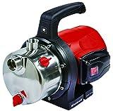 Einhell Gartenpumpe GC-GP 1250 N (1200 W, 5000 L/h Max. Fördermenge, Wassereinfüllschraube, Wasserablassschraube)