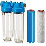 DP2 PFEXFAG 5mcr 3/4' Eisenfilter zur Senkung der Eisenkonzentration im Wasser