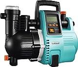 Gardena Comfort Hauswasserautomat 5000/5E LCD: Hauswasserpumpe mit LC-Display, energiesparend, Frdermenge 5000 l/h, 1300W Motor mit Thermoschutzschalter, Trockenlaufsicherung (1759-20)