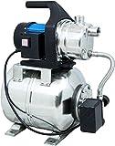 Gde 94637 HWW 1000E Hauswasserwerk (1000W, 3500l/h, Druckschalter, 19 l Edelstahltank, Frderhhe 44M)